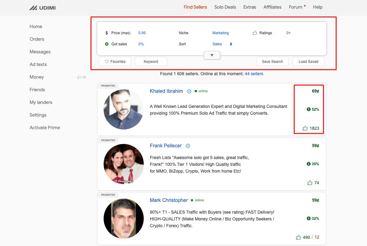 udimi-review-udimi-marketplace-interface