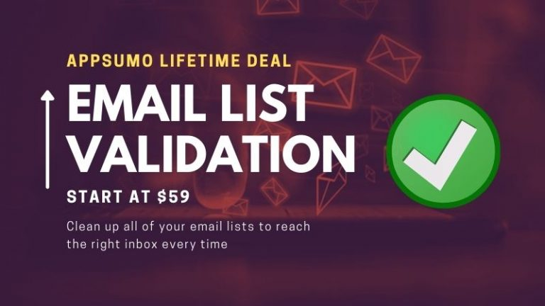 Email-List-Validation-Appsumo-Lifetime-Deal